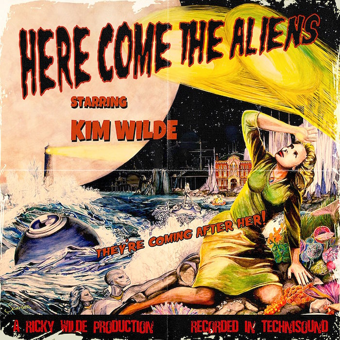 Kim Wilde – Here Come The Aliens | Pochette album, Album
