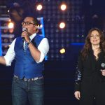Isabelle Boulay et Gregory Charles